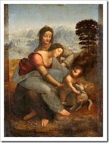 250px-La_Vierge,_l'Enfant_Jésus_et_sainte_Anne,_by_Leonardo_da_Vinci,_from_C2RMF_retouched