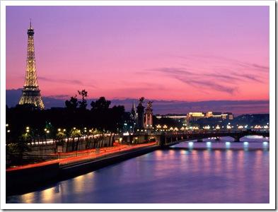 Paris, atardecer - turismo